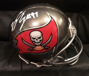 b458feadc89 Vinny Curry Authentic Signed Tampa Bay Buccaneers Mini Helmet – Top ...