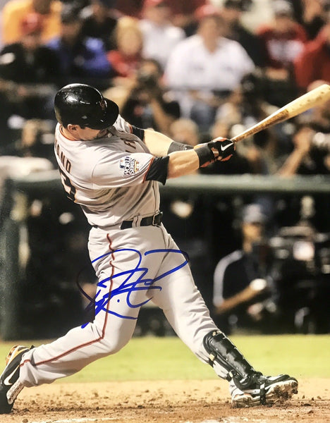 Aaron Rowand Authentic Signed 8x10 - GIANTS WS CHAMPS - Top Notch Signatures LLC