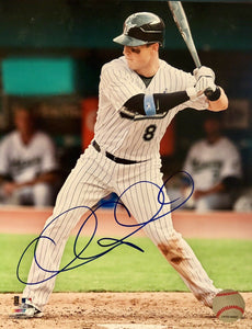 Chris Coghlan Authentic Autographed Signed 8x10 Photo - Florida Marlins Cubs - Top Notch Signatures LLC