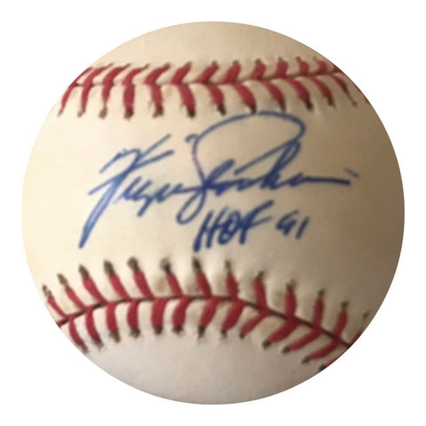 Fergie Jenkins Authentic Signed MLB Baseball - Chicago Cubs HOF - Top Notch Signatures LLC