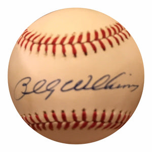 Billy Williams Authentic Signed MLB Baseball - Chicago Cubs HOF - Top Notch Signatures LLC