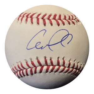 Carlos Correa Authentic Signed MLB Baseball (JSA COA) HOUSTON ASTROS WS CHAMPS - Top Notch Signatures LLC