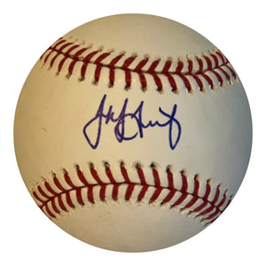Jake Arrieta Authentic Signed MLB Baseball - Philadelphia Phillies CUBS WS - Top Notch Signatures LLC