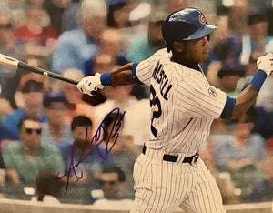 Addison Russell Authentic Signed 11x14 Photo Edit (JSA COA) Chicago Cubs - Top Notch Signatures LLC