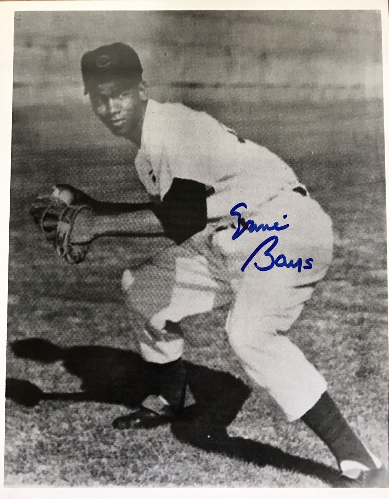 "Ernie Banks Authentic Signed 8x10 ""MR.CUB"" HOF - Top Notch Signatures LLC"