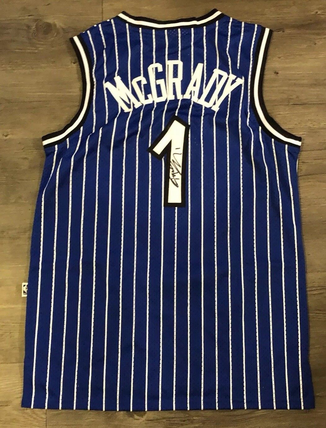 newest d98a5 2d4a0 Tracy Mcgrady Signed Orlando Magic Jersey - ALL STAR Toronto ...