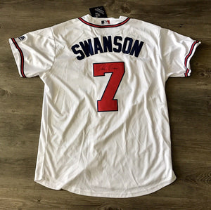 Dansby Swanson Signed Atlanta Braves Jersey - #1 Overall Pick - Top Notch Signatures LLC
