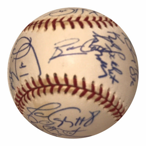 2000 Atlanta Braves Team Signed Baseball - Glavine,Smoltz,Maddux,Jones, Cox - Top Notch Signatures LLC