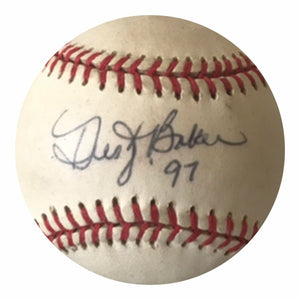 Dusty Baker Authentic Signed MLB Baseball - Atlanta Braves All Star ALCS MVP - Top Notch Signatures LLC