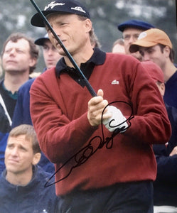 Bernhard Langer Authentic Signed 8x10 Photo - PGA Tour 2x Masters Champ Golf - Top Notch Signatures LLC