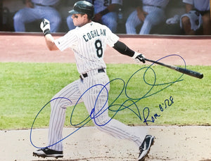 Chris Coghlan Signed 11x14 CUBS WS CHAMP ROY - Top Notch Signatures LLC