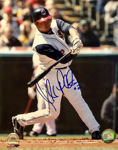 Jhonny Peralta Authentic Autographed Signed 8x10 Photo - Cleveland Indians - Top Notch Signatures LLC