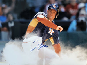 George Springer Authentic Signed 8x10 Photo - Houston Astros WS MVP - Top Notch Signatures LLC