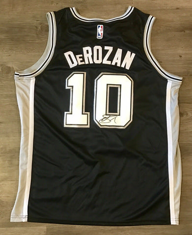 DeMar DeRozan Signed San Antonio Spurs Jersey - NBA ALL STAR Raptors - Top Notch Signatures LLC