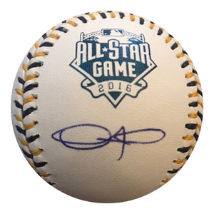 Dexter Fowler Authentic Signed 2016 All Star Game BASEBALL  CHICAGO CUBS - Top Notch Signatures LLC