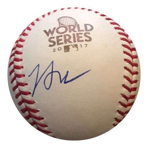 Brian McCann Authentic Signed 2017 WORLD SERIES Baseball - HOUSTON ASTROS - Top Notch Signatures LLC