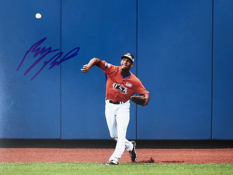 Byron Buxton Authentic Autographed Signed 8x10 Photo - Minnesota Twins - Top Notch Signatures LLC