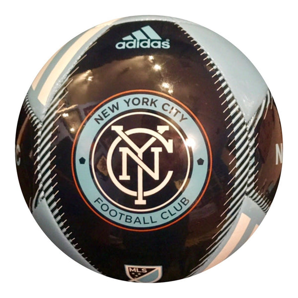 David Villa Authentic Signed NYC FC Soccer Ball - Barcelona Spain World Cup - Top Notch Signatures LLC