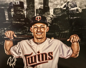 Royce Lewis Authentic Signed 11x14 Photo (COA) Minnesota Twins Edit 1st Overall