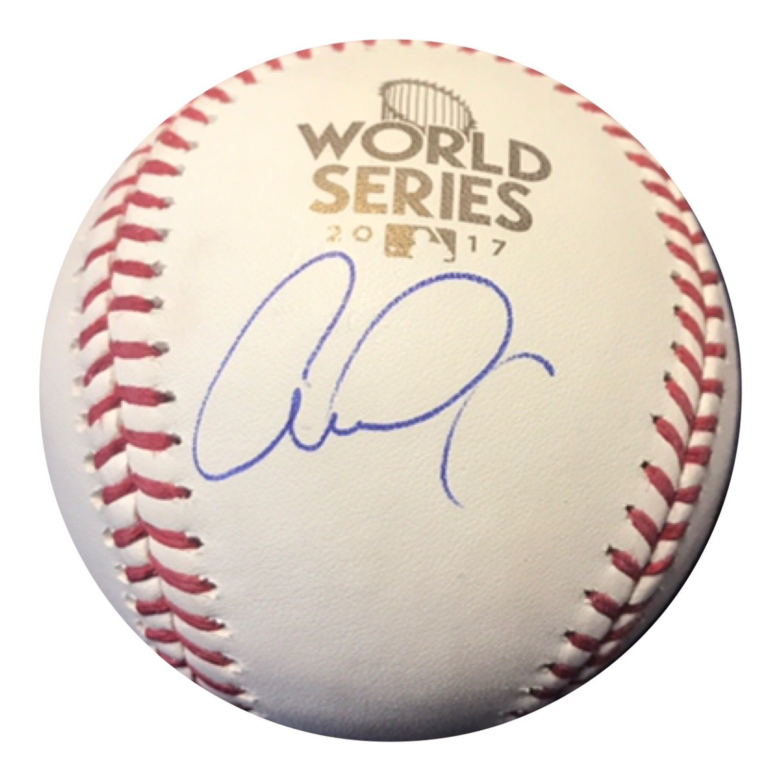 Carlos Correa Authentic Signed 2017 World series Baseball (JSA) HOUSTON ASTROS - Top Notch Signatures LLC