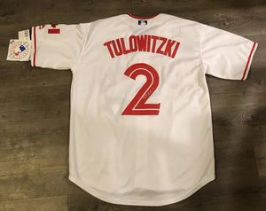 Troy Tulowitzki Toronto Blue Jays Jersey (COA) Canada New York Yankees All Star
