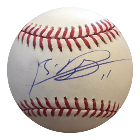 Rafael Devers Authentic Signed MLB Baseball (COA) BOSTON RED SOX STAR