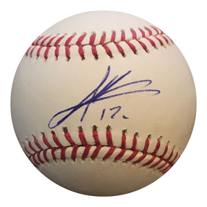 Andres Gimenez Authentic Signed MLB Baseball - NEW YORK METS TOP PROSPECT - Top Notch Signatures LLC