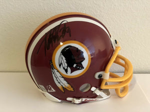 Adrian Peterson Authentic Signed Washington Redskins Mini Helmet - VIKINGS - Top Notch Signatures LLC