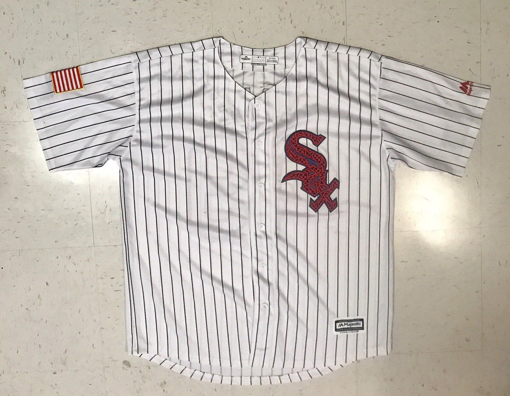online store cadcb 1fc75 Chris Sale Signed Custom Chicago White Sox Jersey - USA 6x ...