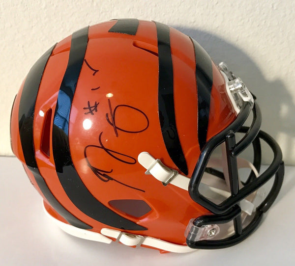 AJ Green Authentic Signed Cincinnati Bengals Mini Helmet - All Pro - Top Notch Signatures LLC