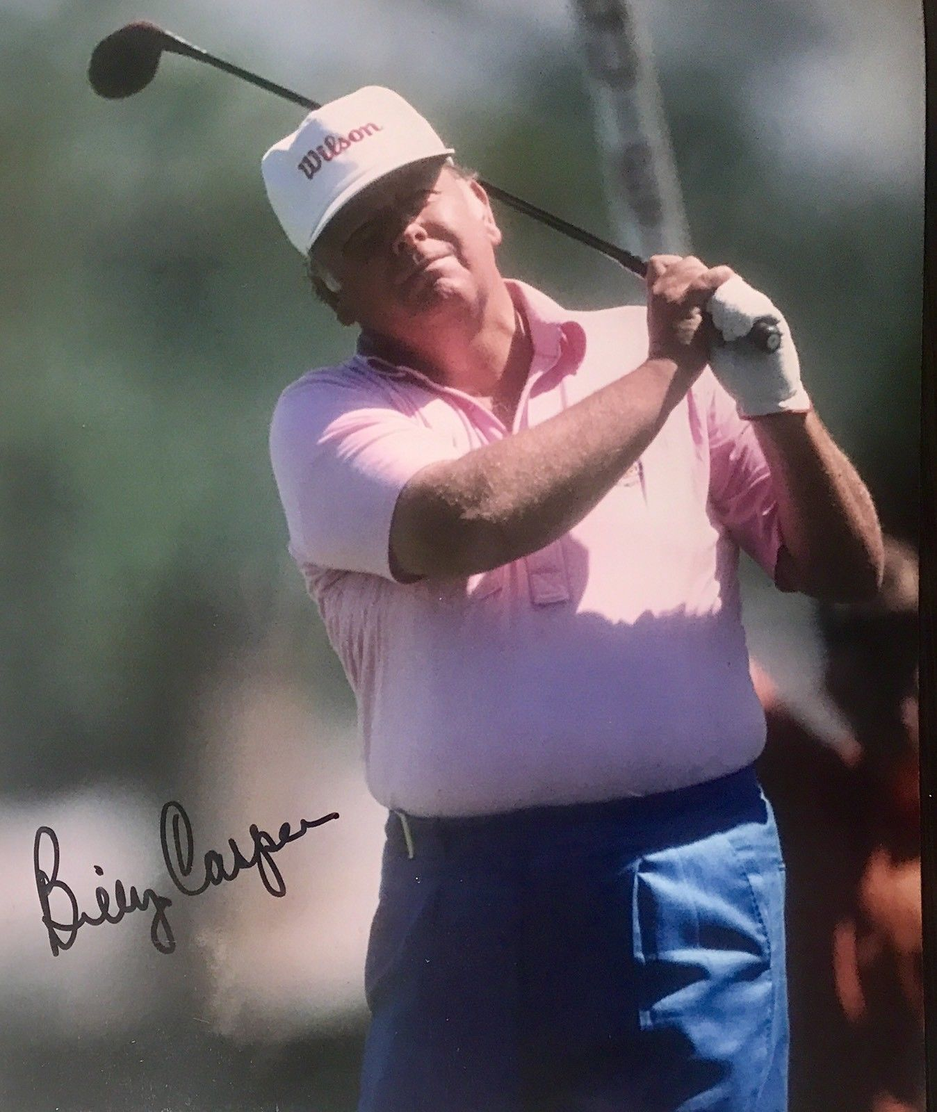 Billy Casper Authentic Signed 8x10 Photo - 3x Major Champion Masters Golf - Top Notch Signatures LLC