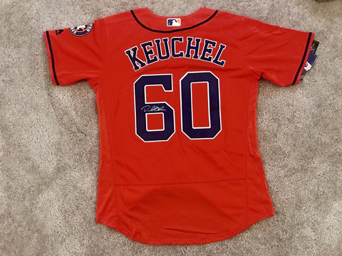 Dallas Keuchel Signed Houston Astros Jersey - World Series Champions - Top Notch Signatures LLC