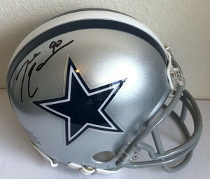 DeMarcus Lawrence Authentic Signed Dallas Cowboys Mini Helmet (COA) ALL PRO - Top Notch Signatures LLC