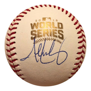 John Lackey Signed 2016 World Series Baseball Autographed Ball JSA PSA GTD CUBS - Top Notch Signatures LLC
