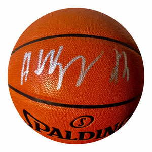 Andrew Wiggins Authentic Signed NBA Basketball (Fanatics) Minnesota Timberwolves - Top Notch Signatures LLC