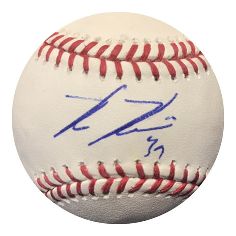 Kevin Kiermaier Authentic Signed MLB Baseball (COA) TAMPA BAY RAYS 2x GOLD GLOVE
