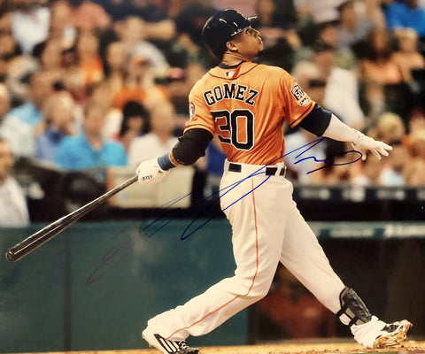 Carlos Gomez Authentic Autographed Signed 8x10 Photo - Houston Astros - Top Notch Signatures LLC