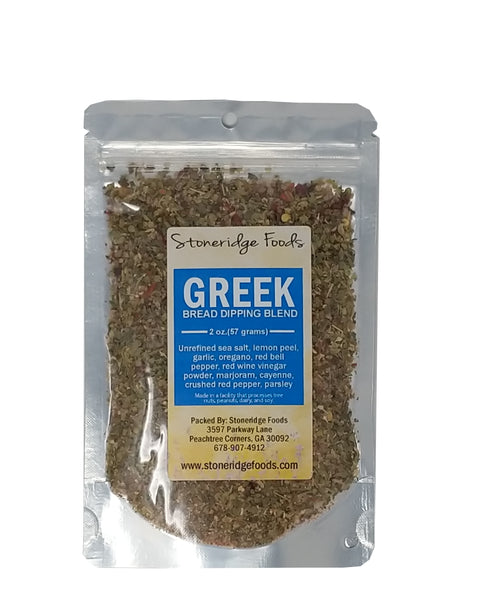 Greek Bread Dipping Blend