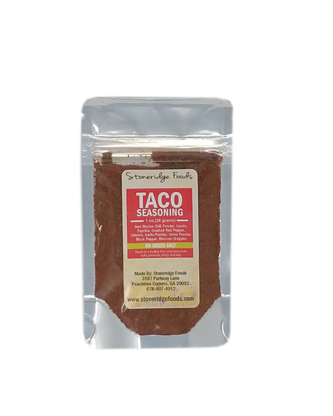 Taco Seasoning (No Added Salt)