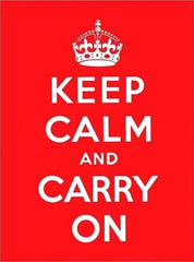Keep Calm and Carry On Gift Book