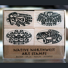 Native American Stamp Set
