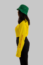 Personality Yellow Long-Sleeve