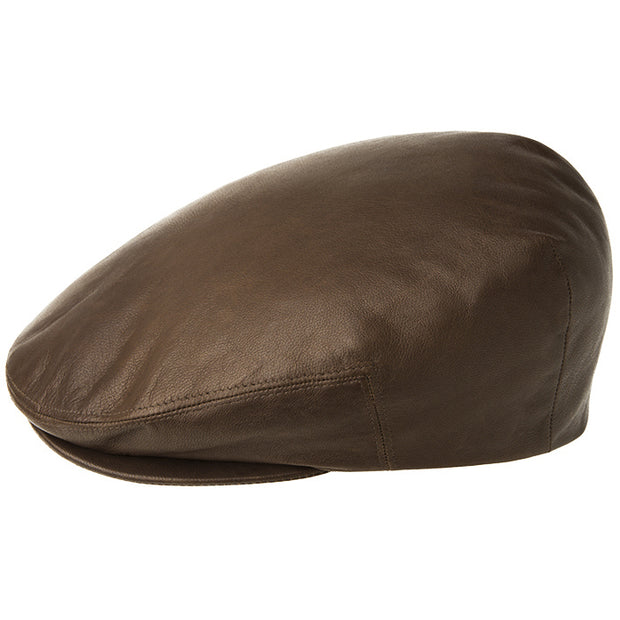 ITALIAN LEATHER CAP