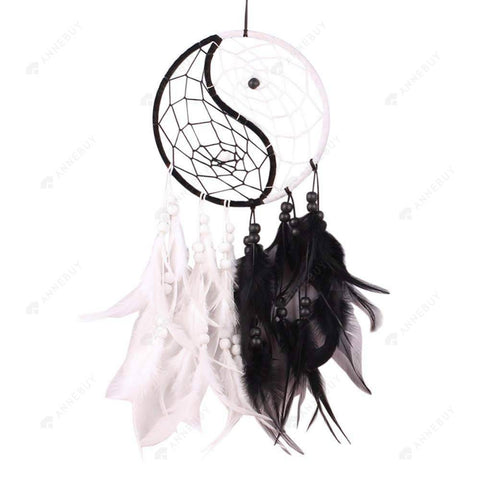 Dream Catcher-Handmade Catcher With Feathers Car Wall Hang Decor Gift