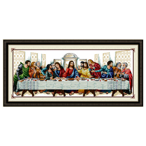 Diamond Painting-5D Full Round Drill Last Supper(101 * 48cm)