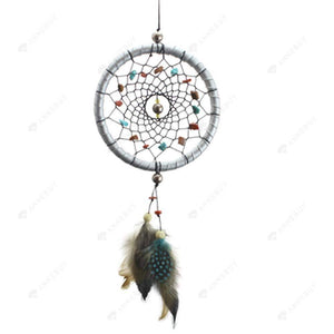 Dream Catcher-Silver Catcher Feathers Core Bead catcher Wall Car Decor