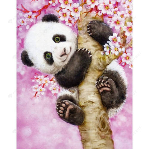 Diamond Painting-Partial Drill Cute Panda