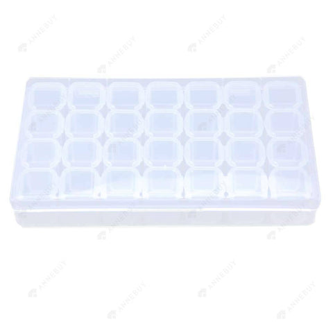 Drill Storage Box-Plastic 28 Slots Fashion Drill Storage Box