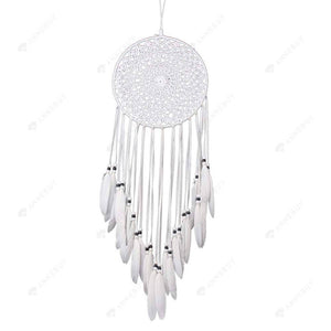 Dream Catcher-White Decorative Pattern Catcher Home Decor