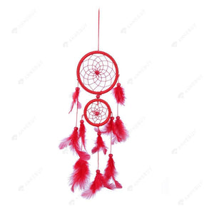 Dream Catcher-New Double R Feather Catcher Wall Hang Home Car Decor